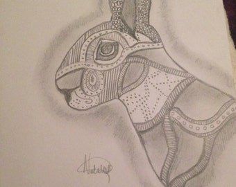 Rabit drawing