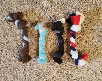 Small Fleece Dog Toy