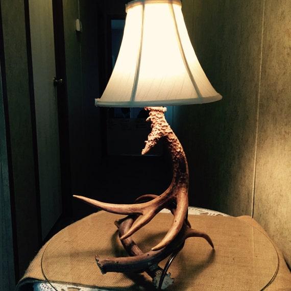 deer antler lamp antler lamp deer horn lamp