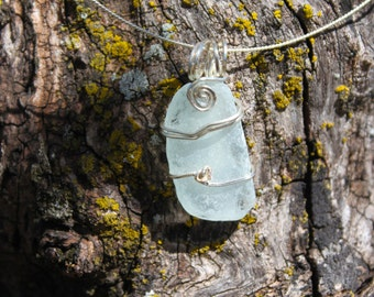 "Jolie ""pretty"", Sea Glass Pendant"
