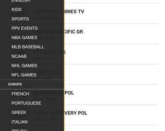 TVONIP Worldwide Iptv 1 month subscription