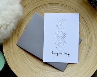 Birthday 10, 5 X 14, 7 CM - GRAPHIC card