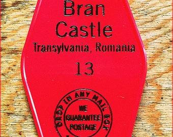 DRACULA inspired BRAN CASTLE keytag