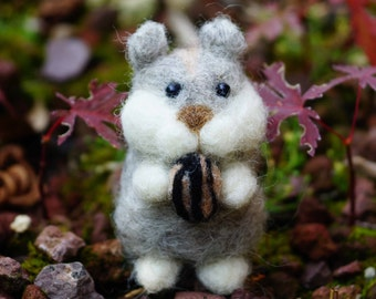 Needle felted Hamster Ghiotto