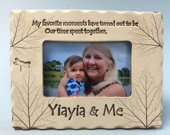 Yiayia Frame, Yiayia gift, best Yiayia gift
