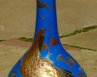 Japanese art pottery vase.