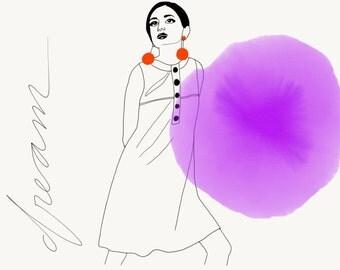 Dream - illustration a4