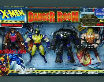 X-Men Danger Room Special Collector's Edition Wolverine Sabretooth Gambit Nimrod