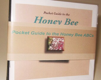 Bee Book, ABCs, Pocket Guide to the Honey Bee ABCs, Bee Facts, Bee Photographs, Gift for Beekeeper, Gift for Child, Gift under 5, Homeschool