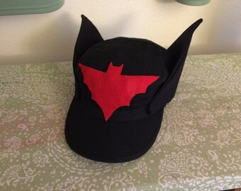 Hat Only- DC Bombshells Batwoman Inspired Baseball Cap
