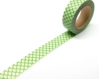 Green Scales Washi Tape
