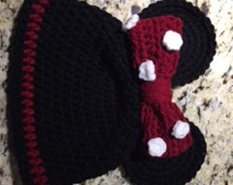 Mickey/Minnie Crochet Hat