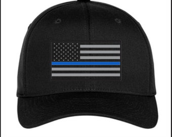 BLUE LIVES MATTER Flag Cap
