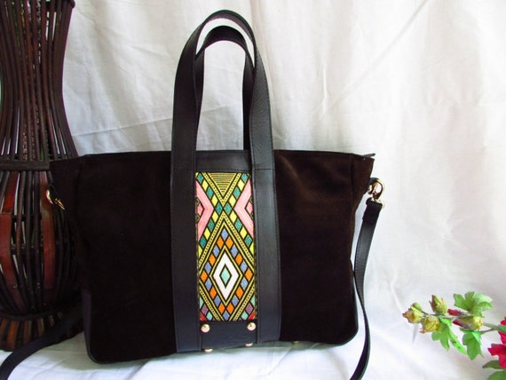 brown leather tote, women leather tote, brown women tote, women leather tote, suede women tote, colorful women tote, large leather tote