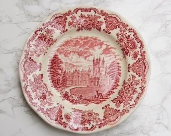 British vintage plates