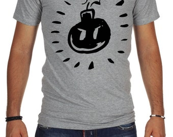 Ba Bomb Scott Pilgrim Grey T-shirt