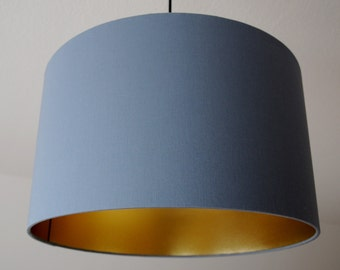 "Lampshade ""Gray gold"""