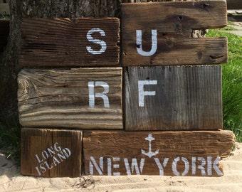 Surf Long Island Wall Art