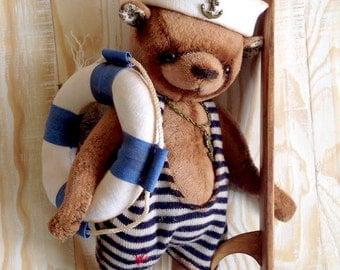 FOR EXAMPLE Custom Pet Stuffed Animal, Teddy Bear, Stuffed Bear, Artist teddy bear, Plush Toy, Ooak  Bear, stuffed plush bear, Bear Gift