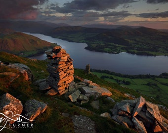 Ullswater from Bonscale Pike  --  Landscape Photography by M J Turner