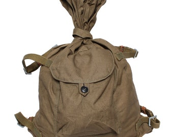 Soviet soldier's military backpack