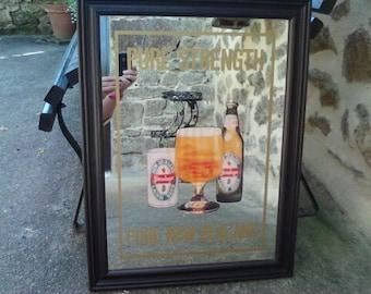 Vintage Stein Lager Advertising/Bar Mirror
