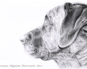 A4 Custom Detailed Pencil Portrait Commission - Child Baby Family Pet Vehicles Buildings Wedding - Drawing from Photograph by Karena Higton