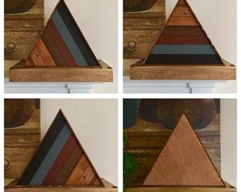 100% Non Toxic Wood Lath Triangle