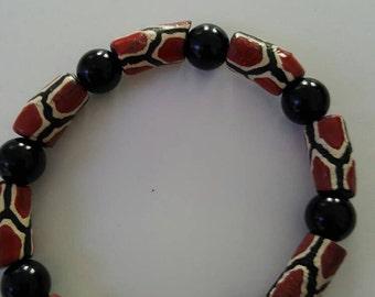 Gariffe print Bracelet