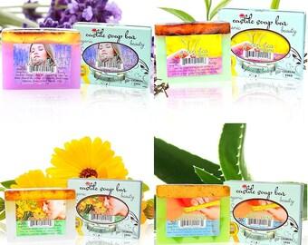 Organic Castile Soap Bars from Castilesoap.com