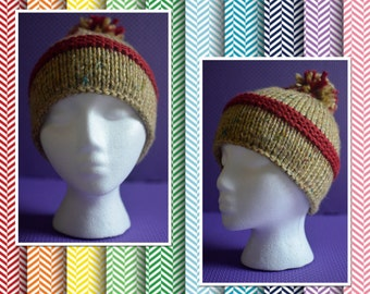 Pom- Pom Hat