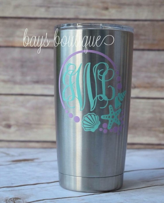 Under The Sea Decal Decal Yeti Monogram Decal Yeti Decals