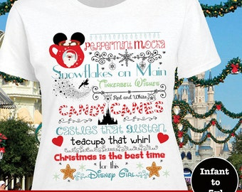 Disney Christmas Castle Shirt, MVMCP Shirt, Christmas At Disney Shirt, Disney Santa Shirt, Disney Christmas Tank, Disney Christmas Shirt