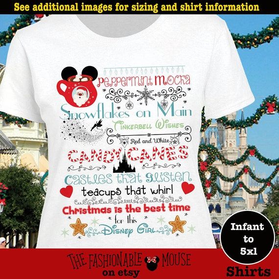 Disney Christmas Castle Shirt Mvmcp Shirt Christmas At
