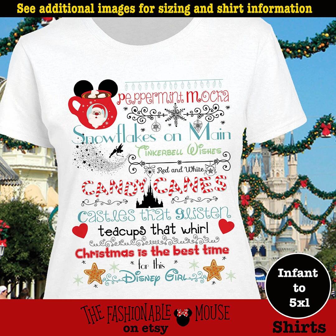Disney Christmas Castle Shirt MVMCP Shirt Christmas At