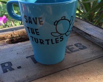 Save the Turtles mug