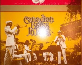 The Canadian Brass - Canadian Brass in Paris BMC-3003 Vinyl Record LP 1974
