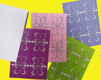 Custom Designed Note Cards with envelopes - Set of 8