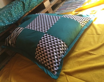 Cushion, Ottoman Zebra