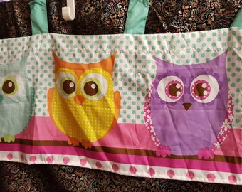 KIDS Owls Curtains Set  OF TWO