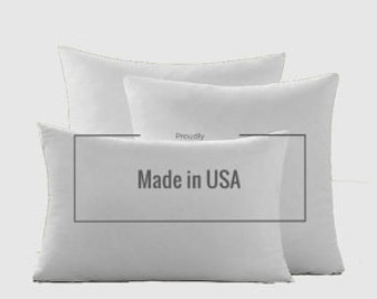 "Luxury Synthetic Down Pillow Insert 16"" X 16"" (40cm X 40cm)"