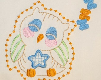 Decorative Owls  ( 20 Machine Embroidery Designs from ATW )
