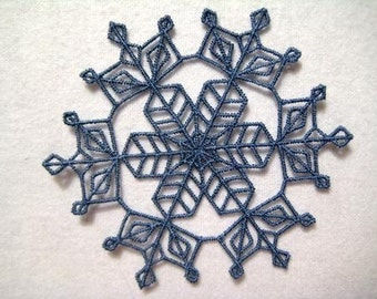 FSL Snowflakes-LM (10 Machine Embroidery Designs from ATW )