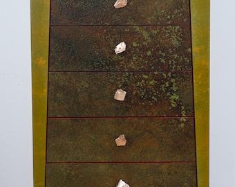 Contemporary 5 Drawer Dresser