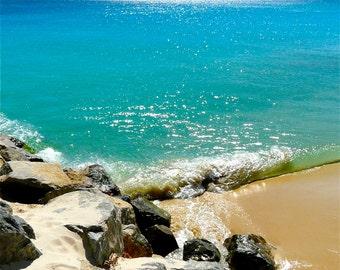 Beach Rocks!  Print