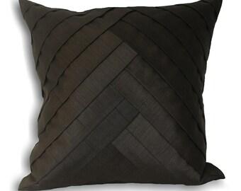 Black Harlequin Cushion x 2