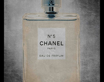 FRAMED Chanel No. 5 Bottle 24x36 Art Poster GREAT for COLLEGE Dorms