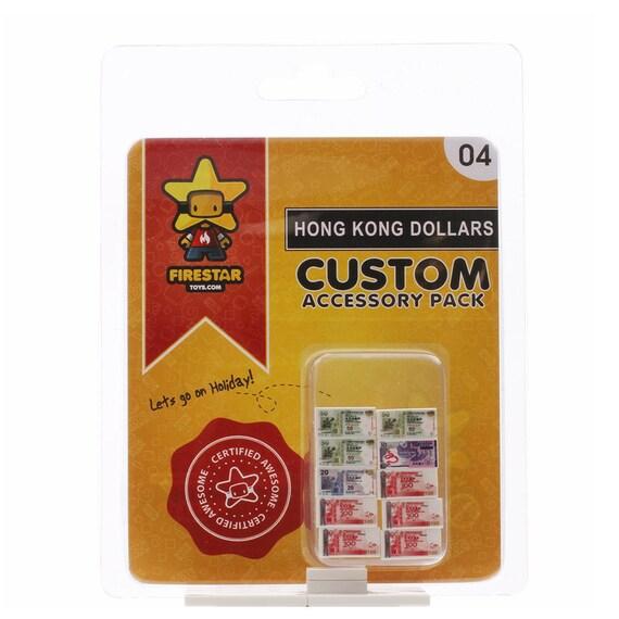 Hong Kong Dollars Custom LEGO Accessory Pack