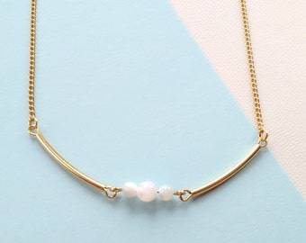 DOUBLE BAR NECKLACE / 10 /