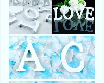Shabby chic handmade wooden lettering and customizable!